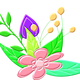 Floral Design Vector Clipart