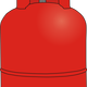 Gas Bottle Vector Clipart