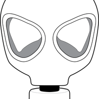 Gas Mask Vector Clipart