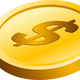 Gold Coin Vector Art