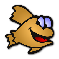 Gold Fish Vector Clipart