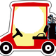 Golf Cart Vector Clipart