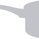 Grey Pan Vector Clipart