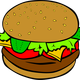 Hamburger Vector Art