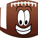Happy Football vector clipart