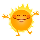Happy Sunshine Vector Clipart