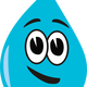 Happy Water Droplet vector files
