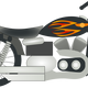 Harley Motorcycle vector clipart