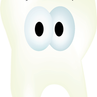 Healthy Tooth Vector Clipart