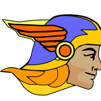 Hermes, the messenger God vector clipart
