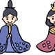 Hina Dolls Vector Clipart