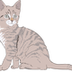 Kitten Vector Clipart
