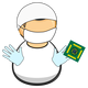 Lab Worker Vector Clipart
