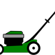 Lawnmower vector clipart