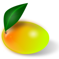 Mango Fruit Vector Art