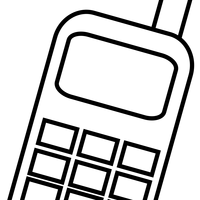 Mobile Cellphone Vector Clipart