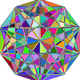 Multispectral Gemstone Vector Clipart