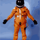 NASA Flight Suit Vector Clipart