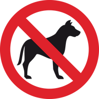 No Dogs Vector file