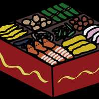 Osechi Boxed lunch food