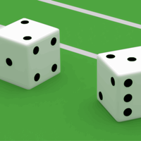 Pair of Dice vector clipart