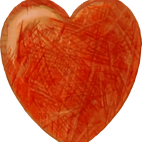 Pencil Drawn Heart Vector Clipart
