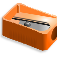 Pencil Sharpener Vector Graphic