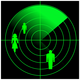 People radar vector clipart