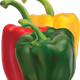 Peppers vector art