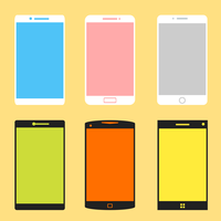 Phone Group vector graphics