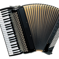 Piano Accordion Vector Clipart