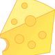 Piece of Cheese Vector Art