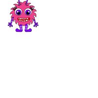 Pink Monster Vector Files