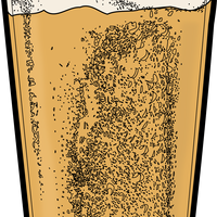 Pint of Beer Vector Clipart