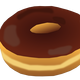 Plain Donut Vector Art