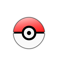 Pokemon Pokeball Vector graphic