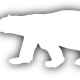 Polar Bear Vector Clipart