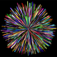 Prismatic Fireworks vector files