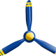 Propeller Vector Clipart