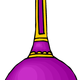 Purple Vase vector clipart