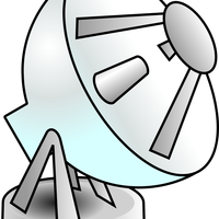 Radar Dish Vector Clipart