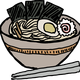 Ramen Bowl Nori vector clipart