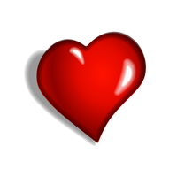 Red Heart Vector Graphics