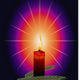 Religious Candlelight vector clipart
