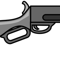 Rifle Cartoon vector file