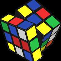Rubik Cube Vector Art