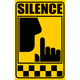Signal of Silence Sign Vector Clipart