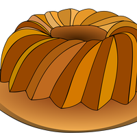 Sliced Cake Vector Art