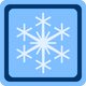 Snow Symbol Vector Clipart