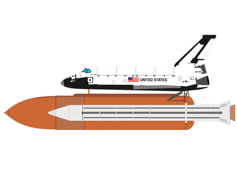 Space shuttle Vector Graphic image - Free stock photo ...